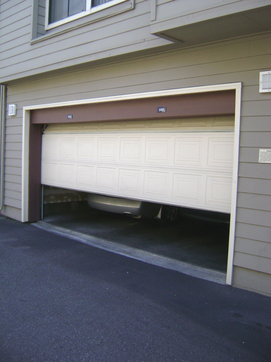 Safety Reversal Check For Automatic Garage Door