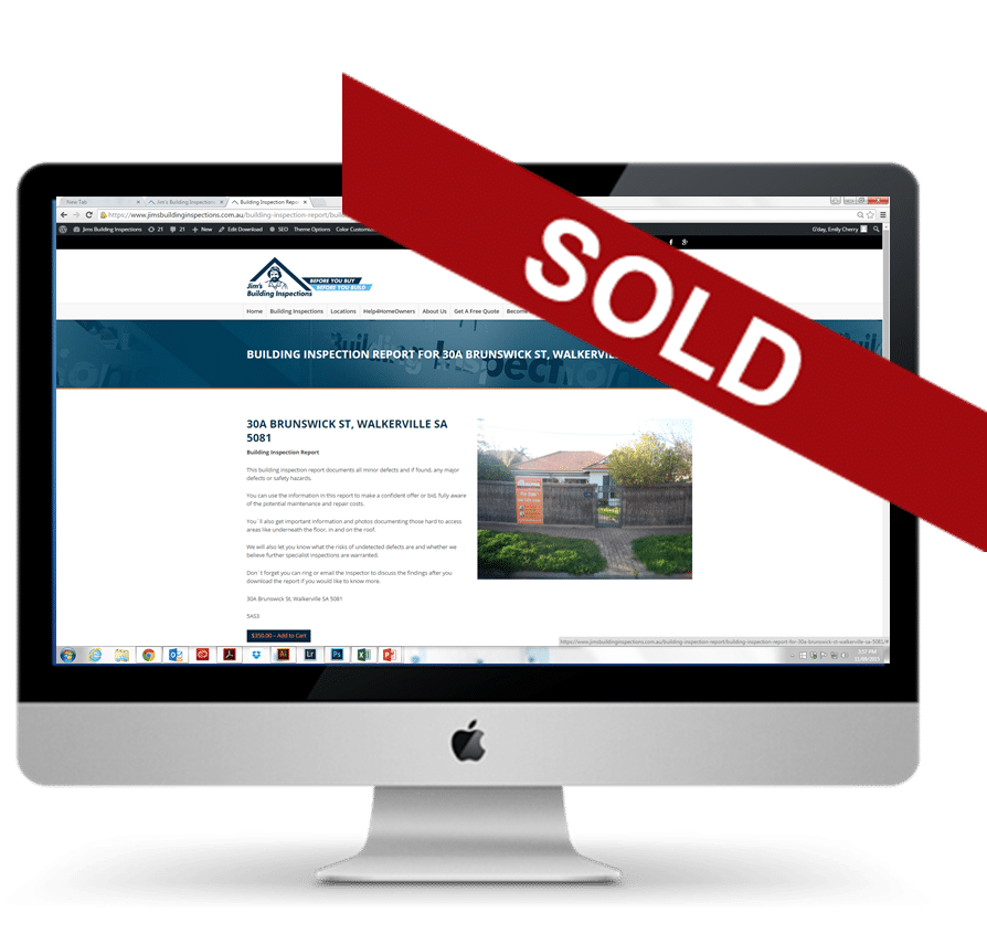 jim's building inspection reports can be repurchased online